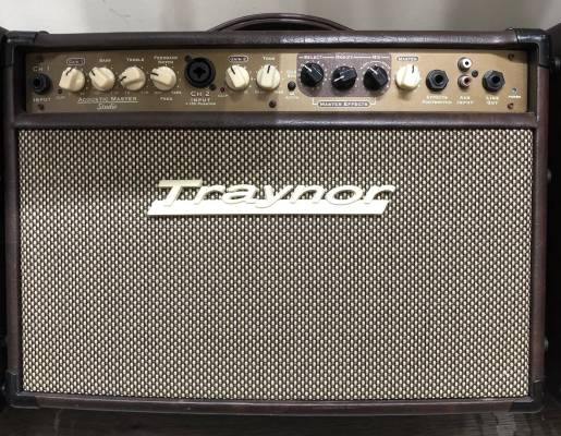 Traynor 2-Channel Compact Stereo Acoustic Guitar Amp - 65 Watts