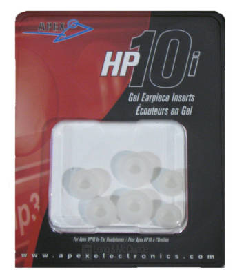 Apex Earbud Insert Pads For HP10