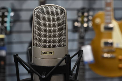 KSM32 Embossed Single-Diaphragm Microphone - Champagne