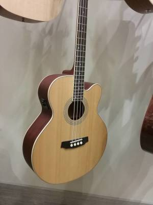 Denver Acoustic/Electric Bass - Natural