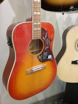 Epiphone Hummingbird Pro Electric Acoustic Faded Cherry