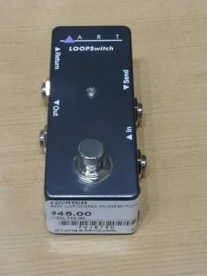 Store Special Product - ART LATCHING FOOTSWITCH
