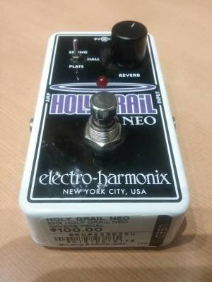electro harmonix holy grail neo reverb pedal long mcquade musical instruments. Black Bedroom Furniture Sets. Home Design Ideas