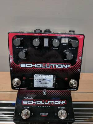 Pigtronix Echolution 2 w/ Remote