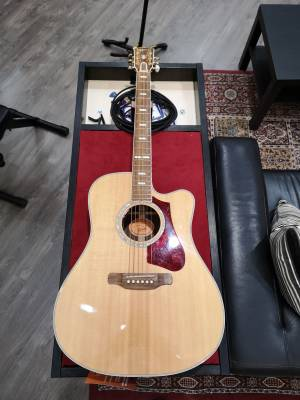 Store Special Product - Gibson 2017 High Performance 835 Supreme Acoustic/Electric Guitar - Natural