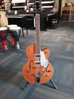 Store Special Product - G5420TG Electromatic Hollow Body Single-cut with Bigsby - Orange Sparkle Top
