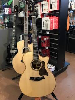 Store Special Product - 714ce Grand Auditorium Lutz Spruce/Rosewood Acoustic/Electric Guitar w/Case