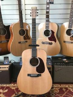 DRSG Road Series Dreadnought Spruce/Siris w/Electronics