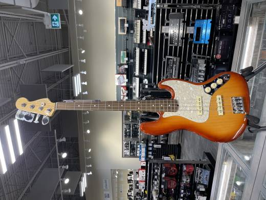 Fender LE Am Pro LT Ash J-Bass - Sienna Sunburst