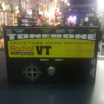 Radial Headbone VT Valve/Tube Amp Head Switcher