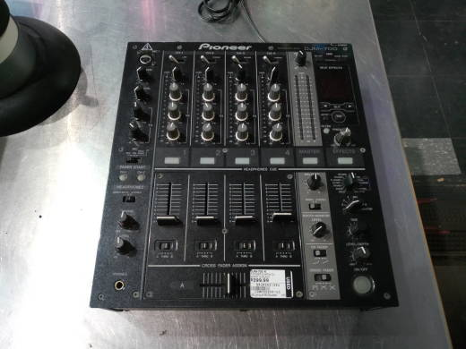 DJM-700 4-Channel DJ Mixer In Black