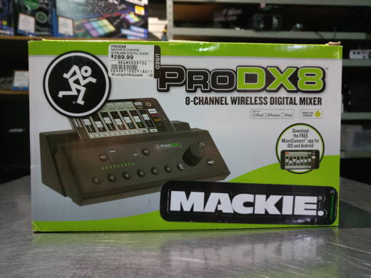 MACKIE 8-CHANNEL WIRELESS DIGITAL MIXER