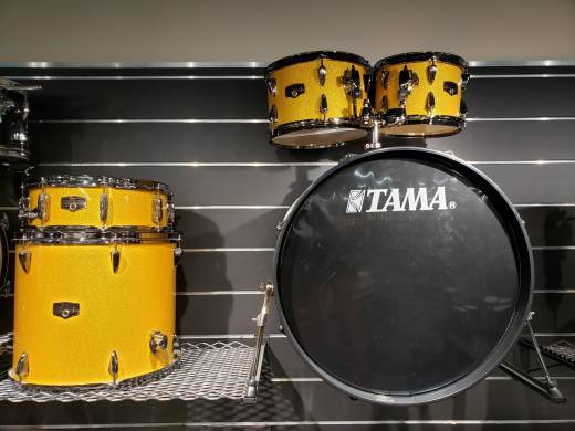 TAMA Imperialstar 5-PC Shell Pack (22,10,12,16,SD) - Golden Yellow Sparkle - B-STOCK