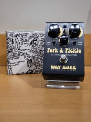 WAY HUGE Pork And Pickle Bass Overdrive & Fuzz Pedal