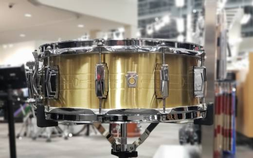 LUDWIG Heirloom Brass Snare Drum 5.5x14''