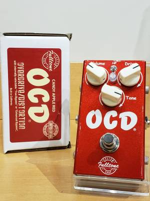 Fulltone Limited Edition OCD V2 Overdrive Pedal - Candy Apple Red