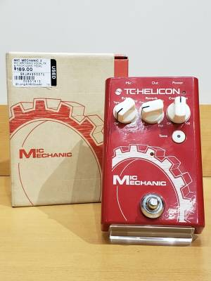 T.C. Helicon Mic Mechanic 2 Echo, Reverb and Pitch Correction Pedal
