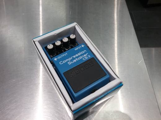 Boss CS-3 Compression Sustainer guitar/bass effect pedal