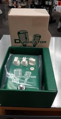 T.C. Duplicator Vocal Effects Pedal w/Doubling, Reverb and Pitch Correction