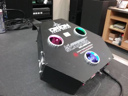 Orion TriScanner RGB High Energy Triple Tunnel Scanner