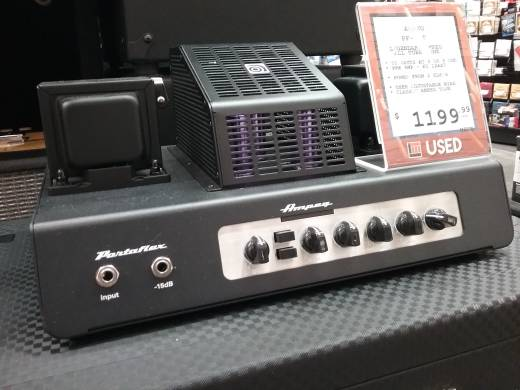 Store Special Product - Ampeg Portaflex 50W All-Tube Bass Head