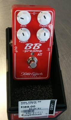 Xotic Effects BB Preamp - Andy Timmins edition