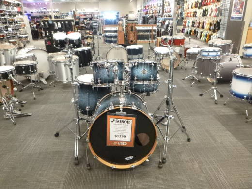 SONOR SELECT STAGE3 22,10,12,16,SD,HW BLUE GA│