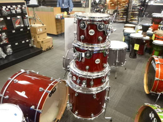 Store Special Product - Design Series 5-Piece Shell Pack (22,10,12,16, Snare) - Cherry Stain