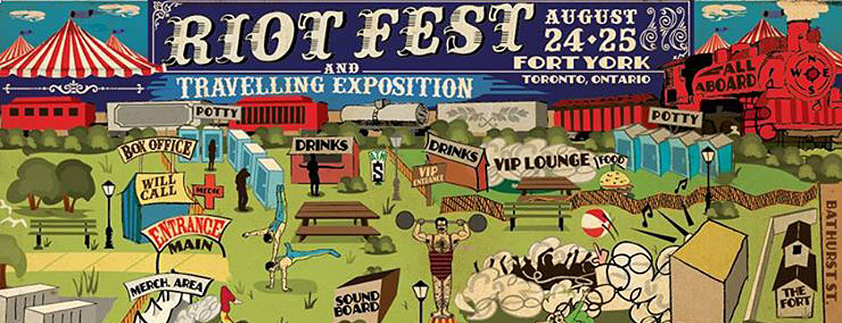 Win Weekend Passes to Riot Fest in Toronto!