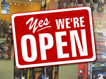 Open Sundays! - Various Locations