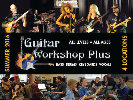 Save & Win with Guitar Workshop Plus! - Toronto, ON, Vancouver, BC
