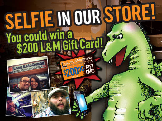 Selfie In Our Store Contest