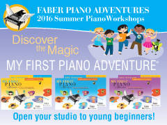 FREE TEACHER WORKSHOP: My First Piano Adventure - Burlington ON, London ON