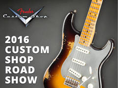 Fender Custom Shop Roadshow 2016 - Vancouver, BC