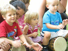 Family Time: Preschoolers & Parents Drumming Playshop - Toronto, ON