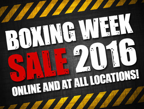 Boxing Week 2016!