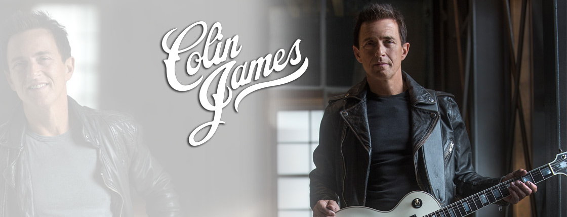 Win Tickets to See Colin James - Various Locations