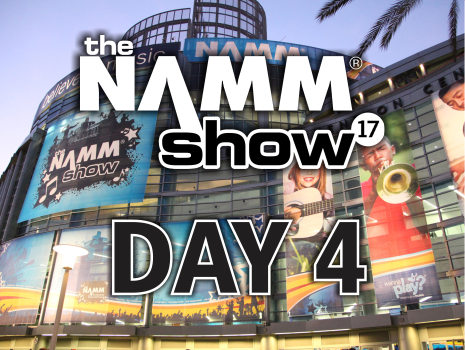 Exclusive New Gear Videos @ NAMM 2017: Day 4
