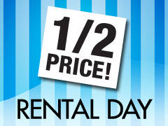Half Price Rental Day - All Locations