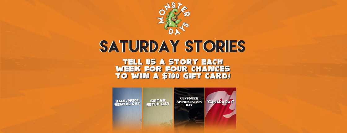 CONTEST: Monster Days Saturday Stories - All Locations