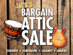 Jack's Bargain Attic Sale is BACK! - Various Locations