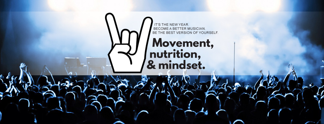 Movement, Nutrition, and Mindset for Musicians - Calgary North, AB