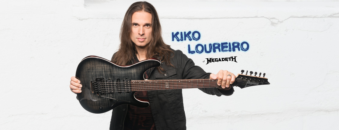 Check Out Kiko Loureiro of Megadeth! - Various Locations