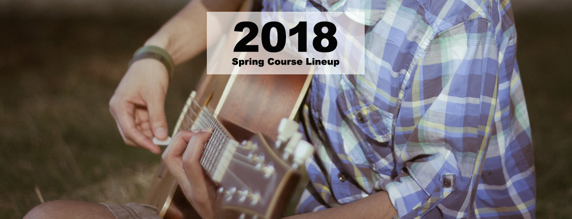 2018 Spring Course Lineup - Toronto, ON