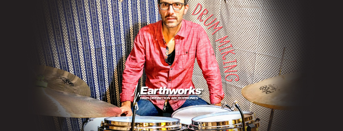The Future of Drum Miking with Anthony Michelli & Earthworks - L&M Pro