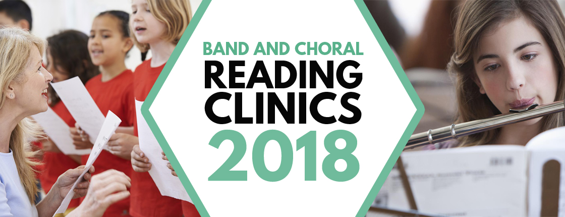 Band & Choral Reading Clinics - Various Locations
