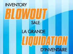 Our Inventory Blowout Sale is Back! - All Locations
