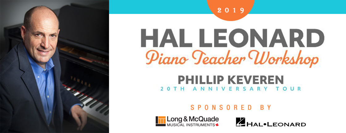 Piano Teacher Workshop with Philip Keveren - Burlington, ON