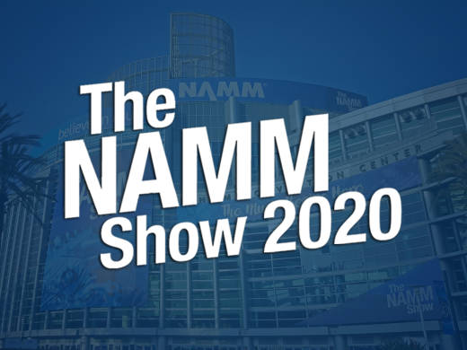 We are at the 2020 winter NAMM show!
