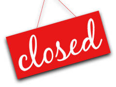 Select Locations Closed Sunday, March 1 for Inventory!